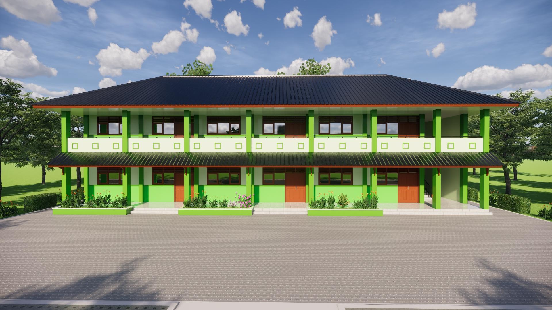 Gedung Baru Tampak Depan